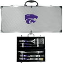 Siskiyou Buckle Kansas St. Wildcats 8 pc Tailgater BBQ Set, C8BQ15