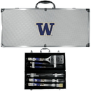 Siskiyou Buckle Washington Huskies 8 pc Tailgater BBQ Set, C8BQ49