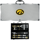 Siskiyou Buckle Iowa Hawkeyes 8 pc Tailgater BBQ Set, C8BQ52