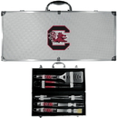 Siskiyou Buckle S. Carolina Gamecocks 8 pc Tailgater BBQ Set, C8BQ63