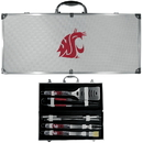 Siskiyou Buckle Washington St. Cougars 8 pc Tailgater BBQ Set, C8BQ71