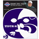 Siskiyou Buckle C8GFD15 Kansas St. Wildcats Set of 4 Game Day Faces