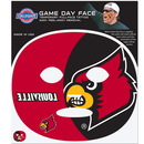 Siskiyou Buckle C8GFD88 Louisville Cardinals Set of 4 Game Day Faces