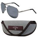 Siskiyou Buckle Texas A & M Aggies Aviator Sunglasses and Sports Case, CASG26SC
