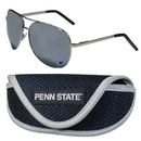 Siskiyou Buckle Penn St. Nittany Lions Aviator Sunglasses and Sports Case, CASG27SC