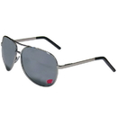 Siskiyou Buckle CASG51 Wisconsin Badgers Aviator Sunglasses
