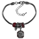 Siskiyou Buckle S. Carolina Gamecocks Euro Bead Bracelet, CBBR63