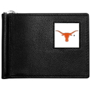 Siskiyou Buckle CBCW22 Texas Longhorns Leather Bill Clip Wallet