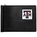 Siskiyou Buckle CBCW26 Texas A & M Aggies Leather Bill Clip Wallet