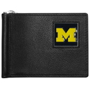 Siskiyou Buckle CBCW36 Michigan Wolverines Leather Bill Clip Wallet