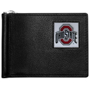 Siskiyou Buckle CBCW38 Ohio St. Buckeyes Leather Bill Clip Wallet