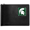 Siskiyou Buckle CBCW41 Michigan St. Spartans Leather Bill Clip Wallet