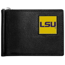Siskiyou Buckle CBCW43 LSU Tigers Leather Bill Clip Wallet