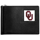 Siskiyou Buckle CBCW48 Oklahoma Sooners Leather Bill Clip Wallet