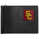 Siskiyou Buckle CBCW53 USC Trojans Leather Bill Clip Wallet