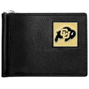 Siskiyou Buckle CBCW57 Colorado Buffaloes Leather Bill Clip Wallet