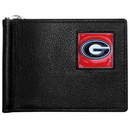 Siskiyou Buckle CBCW5 Georgia Bulldogs Leather Bill Clip Wallet