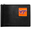 Siskiyou Buckle Virginia Tech Hokies Leather Bill Clip Wallet, CBCW61
