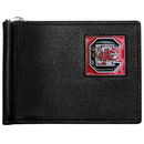 Siskiyou Buckle CBCW63 S. Carolina Gamecocks Leather Bill Clip Wallet