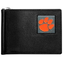 Siskiyou Buckle Clemson Tigers Leather Bill Clip Wallet, CBCW69