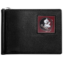 Siskiyou Buckle CBCW7 Florida St. Seminoles Leather Bill Clip Wallet