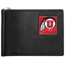Siskiyou Buckle CBCW89 Utah Utes Leather Bill Clip Wallet