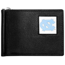 Siskiyou Buckle CBCW9 N. Carolina Tar Heels Leather Bill Clip Wallet