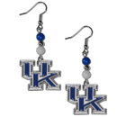 Siskiyou Buckle CBDE35 Kentucky Wildcats Fan Bead Dangle Earrings