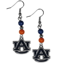 Siskiyou Buckle CBDE42 Auburn Tigers Fan Bead Dangle Earrings