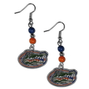 Siskiyou Buckle CBDE4 Florida Gators Fan Bead Dangle Earrings