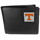 Siskiyou Buckle CBI25 Tennessee Volunteers Leather Bi-fold Wallet Packaged in Gift Box