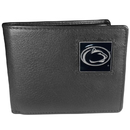 Siskiyou Buckle CBI27 Penn St. Nittany Lions Leather Bi-fold Wallet Packaged in Gift Box