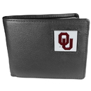 Siskiyou Buckle CBI48BX Oklahoma Sooners Leather Bi-fold Wallet