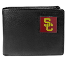 Siskiyou Buckle CBI53BX USC Trojans Leather Bi-fold Wallet