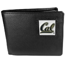 Siskiyou Buckle CBI56 Cal Berkeley Bears Leather Bi-fold Wallet Packaged in Gift Box