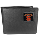 Siskiyou Buckle CBI62 Syracuse Orange Leather Bi-fold Wallet Packaged in Gift Box