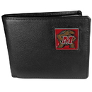 Siskiyou Buckle CBI64 Maryland Terrapins Leather Bi-fold Wallet Packaged in Gift Box