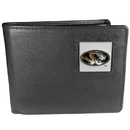 Siskiyou Buckle CBI67 Missouri Tigers Leather Bi-fold Wallet Packaged in Gift Box