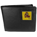 Siskiyou Buckle CBI68 Arizona St. Sun Devils Leather Bi-fold Wallet Packaged in Gift Box
