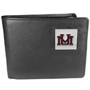 Siskiyou Buckle CBI75BX Montana Grizzlies Leather Bi-fold Wallet