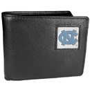 Siskiyou Buckle CBI9BX N. Carolina Tar Heels Leather Bi-fold Wallet