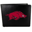 Siskiyou Buckle CBIL12 Arkansas Razorbacks Bi-fold Wallet Large Logo