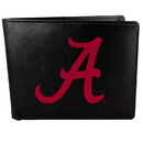 Siskiyou Buckle CBIL13 Alabama Crimson Tide Bi-fold Wallet Large Logo