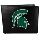 Siskiyou Buckle Michigan St. Spartans Bi-fold Wallet Large Logo, CBIL41
