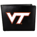 Siskiyou Buckle CBIL61 Virginia Tech Hokies Bi-fold Wallet Large Logo