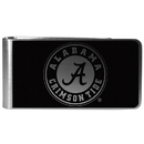 Siskiyou Buckle Alabama Crimson Tide Black and Steel Money Clip, CBKM13