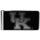 Siskiyou Buckle Kentucky Wildcats Black and Steel Money Clip, CBKM35