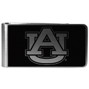 Siskiyou Buckle Auburn Tigers Black and Steel Money Clip, CBKM42