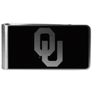 Siskiyou Buckle Oklahoma Sooners Black and Steel Money Clip, CBKM48