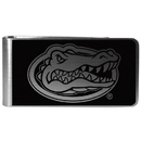 Siskiyou Buckle Florida Gators Black and Steel Money Clip, CBKM4